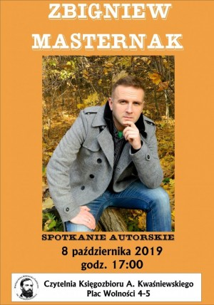 Zbigniew Masternak w Białogardzie. Spotkanie autorskie