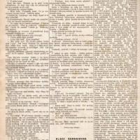 """Artykuł poświęcony K. Estreicherowi w czasopiśmie """"Bluszcz"""" z 1890 r."""