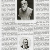 """Artykuł poświęcony K. Estreicherowi w """"Tygodniku Ilustrowanym"""" z 1908 r."""
