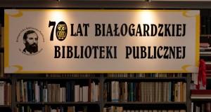 Baner promujący Bibliotekę