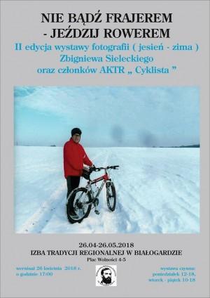 Wernisaż wystawy Zbigniewa Sieleckiego - plakat