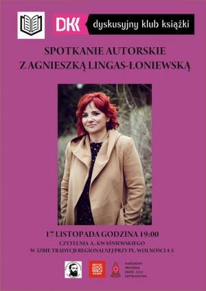 Agnieszka Lingas-Łoniewska w Białogardzie