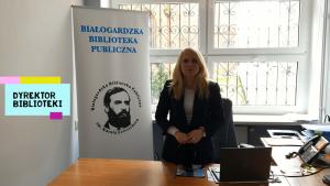 Nowa siedziba Białogardzkiej Biblioteki Publicznej - Tydzień Bibliotek 2021